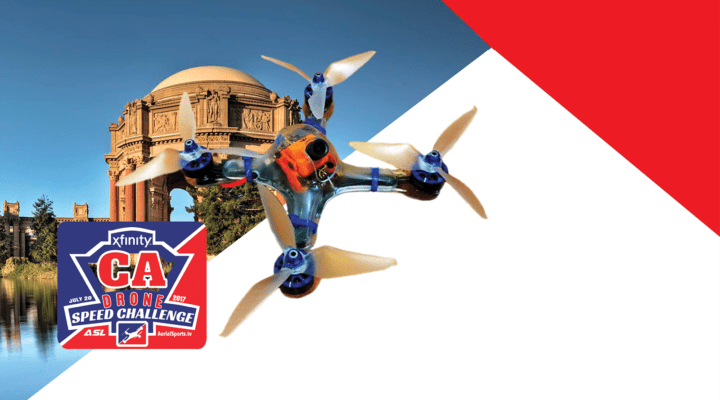 To celebrate new Gigabit Internet speeds, Xfinity and Aerial Sports League will host the first-ever Drone 'Drag Racing' event