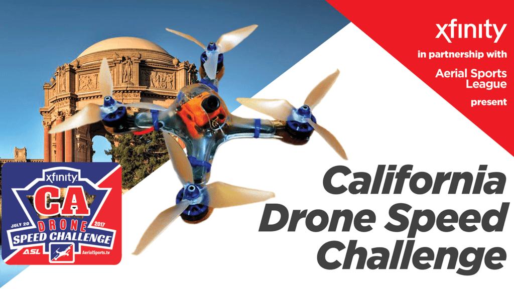 Drone challenge hero