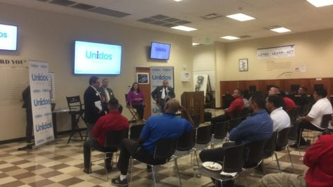 Unidos California hits the road with the Emerging Leader's Speaker Series