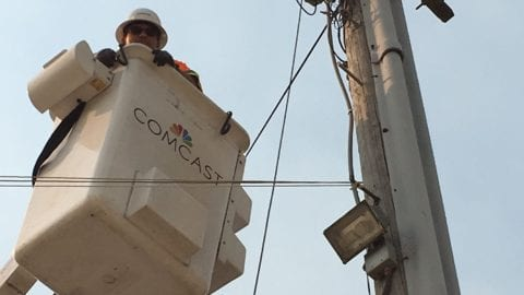 Comcast Restores Services to Business Community in Parts of Napa and Sonoma Counties