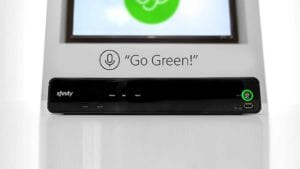 Go Green feature on X1