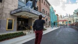 Jimmy Fallon outside of NBC Studios