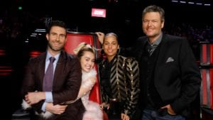 The cast of NBC's The Voice