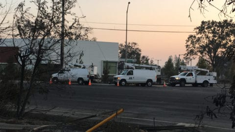 Comcast's Response and Support During the Northern California Wildfires