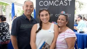 Comcast NBCUniversal Awards Scholarships to Nearly 200 California High School Seniors at the State Capital