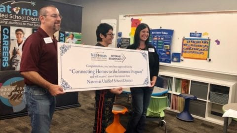 Comcast Partners with Sacramento's Natomas Unified School District to Provide 1,000 Families with Free In-Home WiFi Access