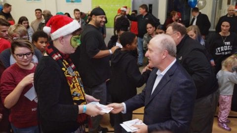 Comcast and Boys & Girls Club of the North Valley Host Holiday Event and Gift Giving For Families Impacted by the Camp Fire