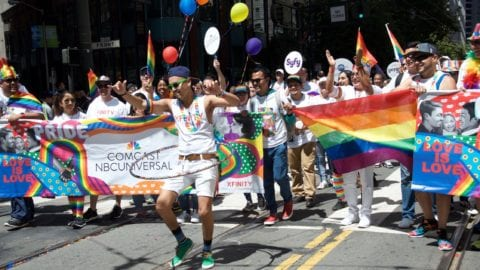 Comcast Celebrates Pride With Programming and Participating in the San Francisco Pride Parade