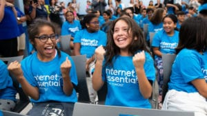 Comcast Internet Essentials with Amigos for Kids at Jose Marti Park on Tuesday, August 6, 2019 in Miami.