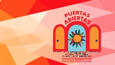 Puertas Abiertas Community Resource Center logo.