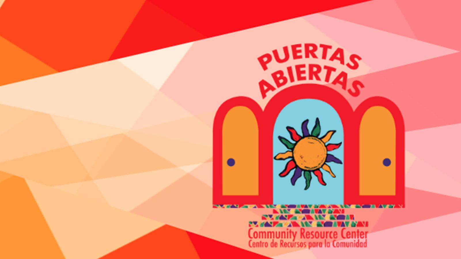 Puertas Abiertas Community Resource Center logo.