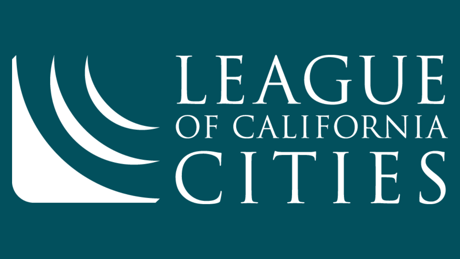 League of California Cities logo