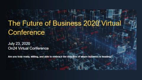 Comcast Business virtual event flyer