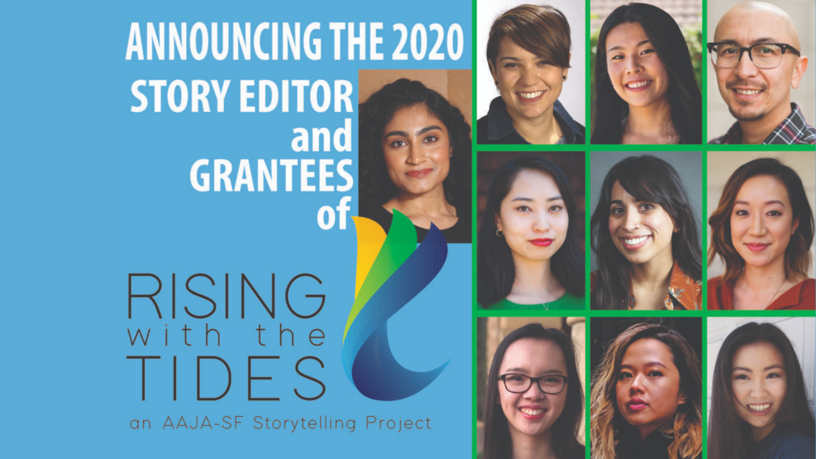 Meet the Rising with the Tides Storytellers