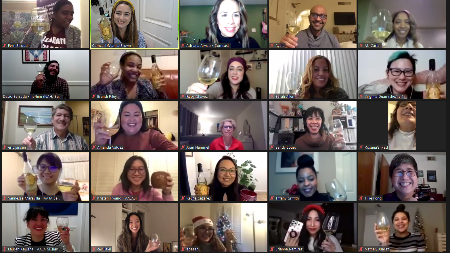 Winding Down the Year with a Virtual Wine Tasting